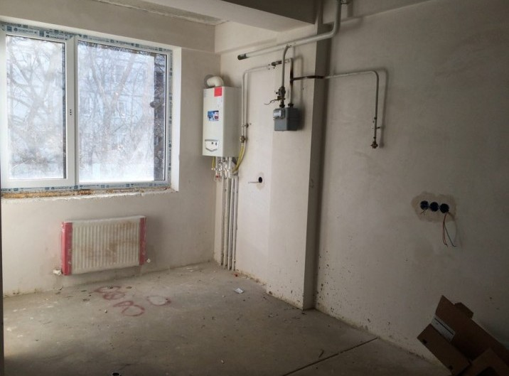Apartament, 67.5m2, Varianta alba, str. Cuza Voda 8/2