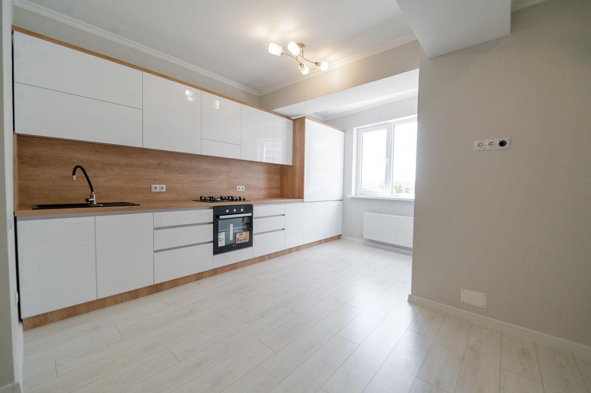 Apartament cu 2 odai, Riscani, 67 mp