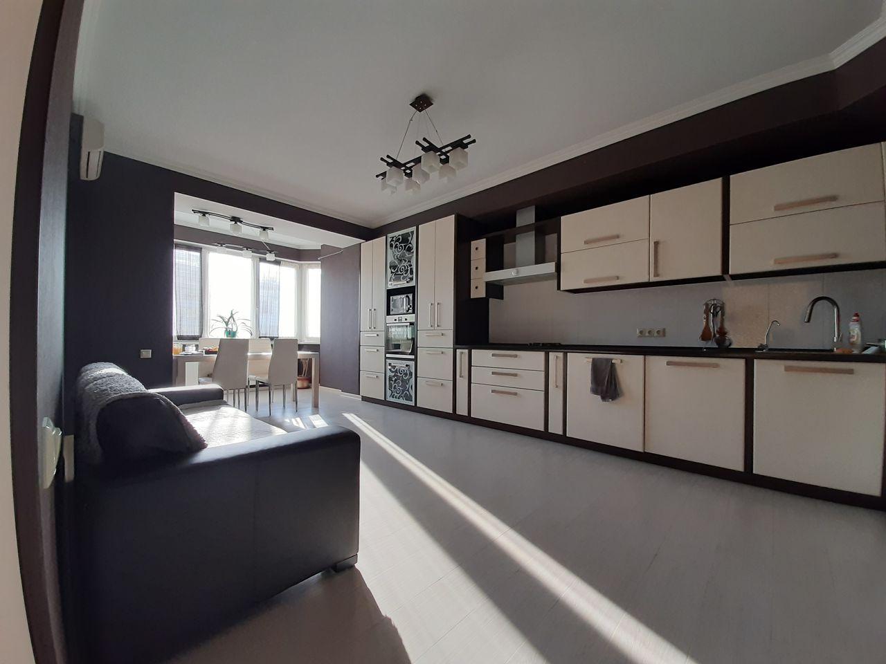 Apartament cu 2 odai, Riscani, 140 mp